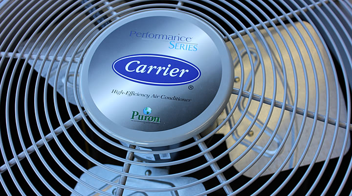 Carrier AC top